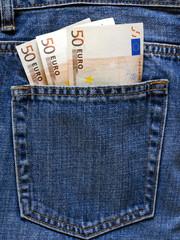 Tasche voller Geld