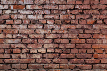 background red brick wall