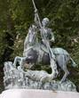 Saint Wencelas statue in Budapest