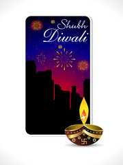 abstract diwali background template