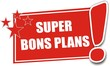 étiquette super bons plans