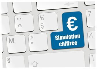 clavier simulation chiffrée