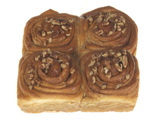 Pecan and Cinnamon Buns