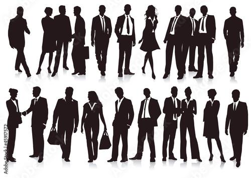 21 Geschäftsleute