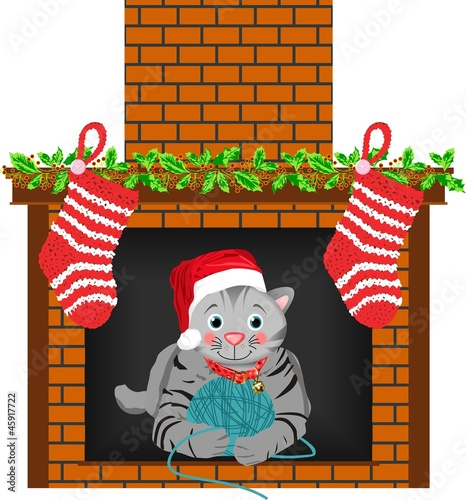 Christmas Cat Stocking