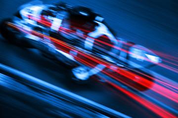 motion blur motorbike