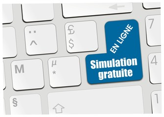 clavier votre simulation gratuite