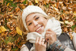 Autumn woman portrait - Herbstfreude