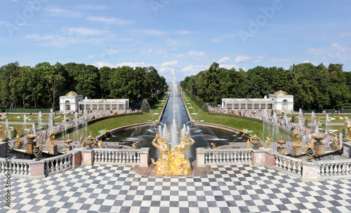The main Fountain of Petrodvorets