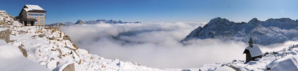 Panorama Rifugio Carè Alto © stegrim