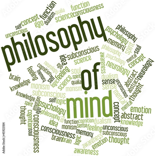 Word cloud for Philosophy of Mind