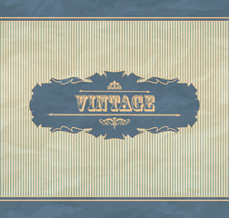 Retro vintage background
