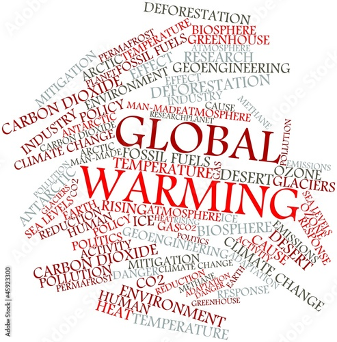 Word cloud for Global Warming