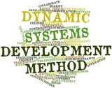 Word cloud for Dynamic Systems Development Method