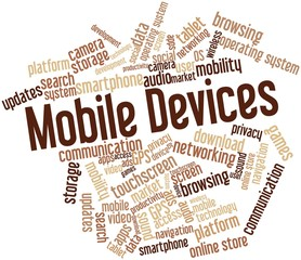 Word cloud for Mobile Devices
