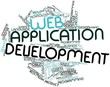 Word cloud for Web Application Development