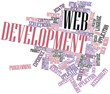 Word cloud for Web Development