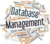 Word cloud for Database Management