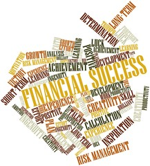 Word cloud for Financial Success