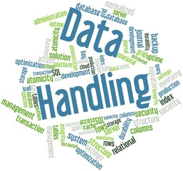 Word cloud for Data Handling