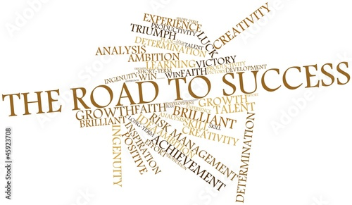 Word cloud for The Road to Success