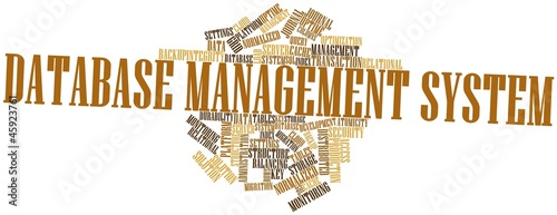 Word cloud for Database Management System