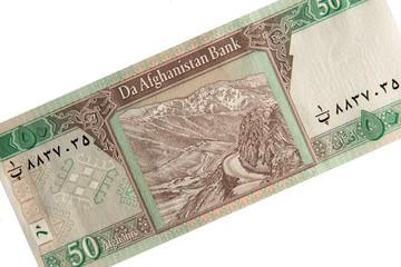Afghanische Banknote - 50 Afghani