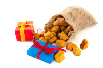 Bag Sinterklaas presents
