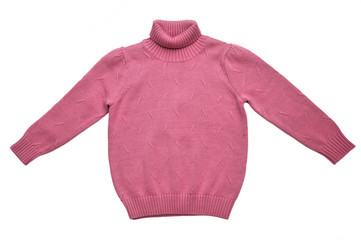 Winter knit sweater