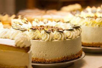 Torte in einer Bäckerei