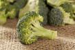 Fresh Green Organic Broccoli
