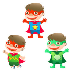 cute super hero boy