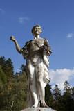 apollo fountain statue from peles castle poster