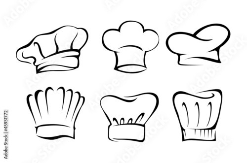 Chef's hat set