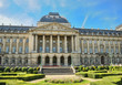 Royal Palace in center of Brussels, Belgium