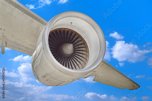 Airplane engine