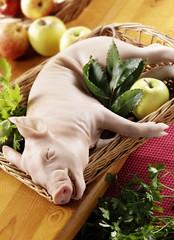 piggy ready to roast