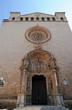 Façade de l'église Saint-François à Palma de Majorque