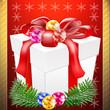 Bescherung zum Weihnachtsfest