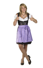 woman in a dirndl