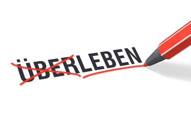 Stift- & Schriftserie: Nicht ÜBERLEBEN sondern LEBEN