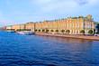 Hermitage and Neva  Embankment at Sunset