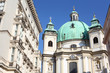 Building near St. Peters Church in Vienna, Austria