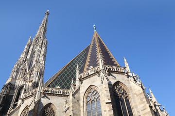 Saint Stephens Cathedral in Vienna, Austria