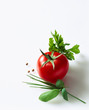 Tomato and herbs