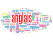 "Nuage de Tags ""ANGLAIS"" (langues angleterre traduction english)"