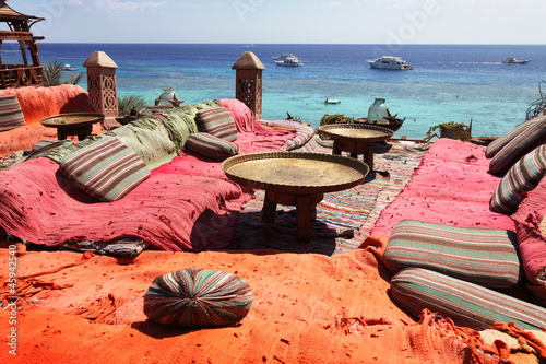 lounge on sharm beach