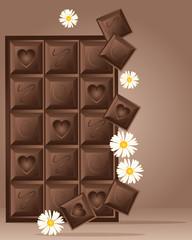 chocolate block design