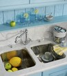 Sink for kitchen ware