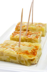 tortilla de patatas, spanish potato omelete